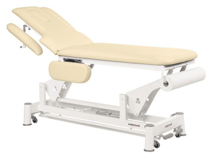 Table de massage électrique 2 plans avec barre périphérique Ecopostural C5584