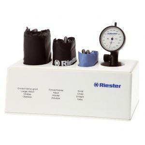 Tensiomètre Riester R1 Antichoc,3 brassards, Fond Blanc, Avec Coffret