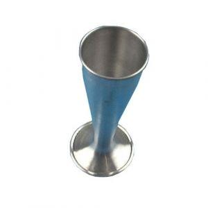 Stéthoscope obstétrical type Pinard en aluminium