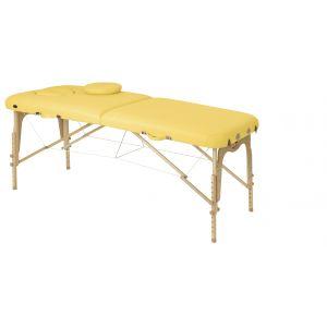 Table pliante en bois avec tendeurs Ecopostural C3611