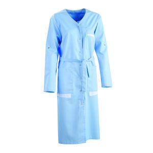 Blouse médicale femme manches transformables GALA Lafont bleu ciel