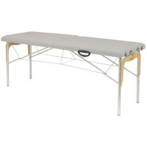 Table de massage avec tendeur Ecopostural hauteur fixe 3312, Coloris Gris 62 x 182 cm M41