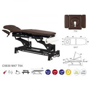 Table de massage électrique multifonctions Ecopostural C5630