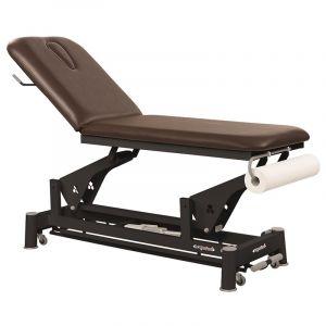 Table de massage électrique 2 plans châssis noir Ecopostural C5633