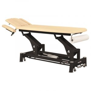 Table de massage électrique châssis noir Ecopostural C5643