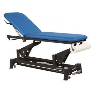 Table électrique 2 plans chassis noir Ecopostural C5652