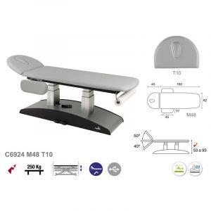 Table de massage électrique à colonne Ecopostural C6924
