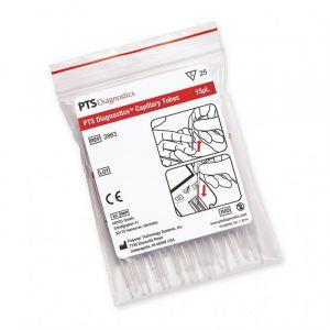 Collecteur de sang capillaire 15μL (Emballage de 25) pour Cardiochek