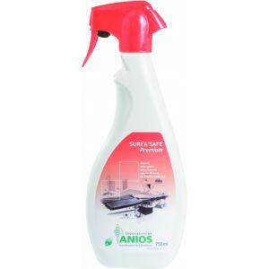Détergent désinfectant Anios Surfa'Safe Premium Rouge 750 ml