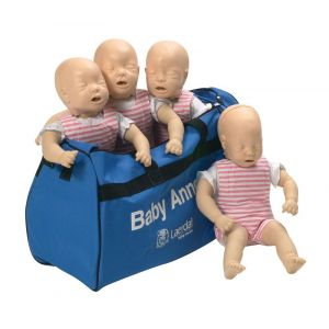 Pack de 4 Bébé Anne avec sac R20300/1 Erler Zimmer