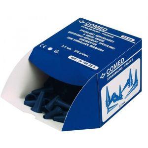 Boîte de 250 spéculums auriculaires couleur 2,5 mm ou 4 mm