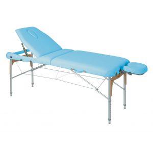Table de massage pliante en aluminium avec tendeurs Ecopostural C3816