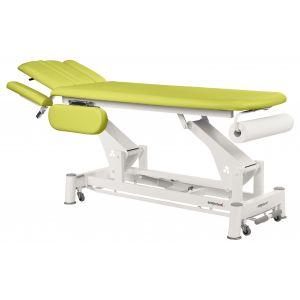 Table de massage électrique ostéo avec accoudoirs Ecopostural C5544