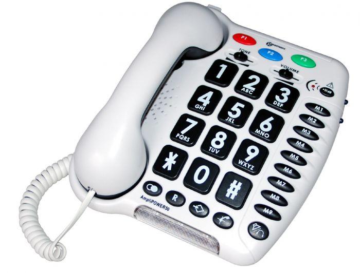 Téléphone amplifié AMPLIPOWER 50 Geemarc