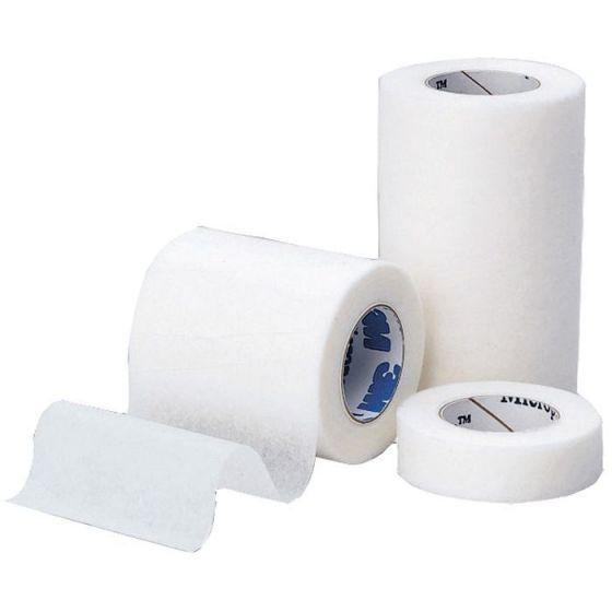 1 Boîte de sparadraps microporeux non-tissé hypoallergénique 3M Micropore