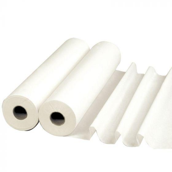 Draps d'examen plastifiés 6 rouleaux 50 x 38 cm DRP-01A LCH