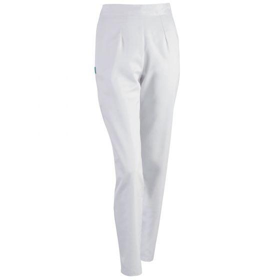 Pantalon infirmière blanc Carla 1ANAPC Lafont