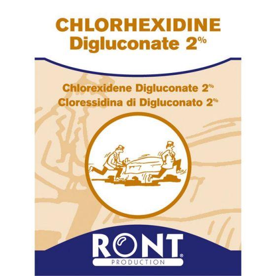 Serviettes à la Chlorhexidine Digluconate 2% Ront 24058 - 100 sachets individuels