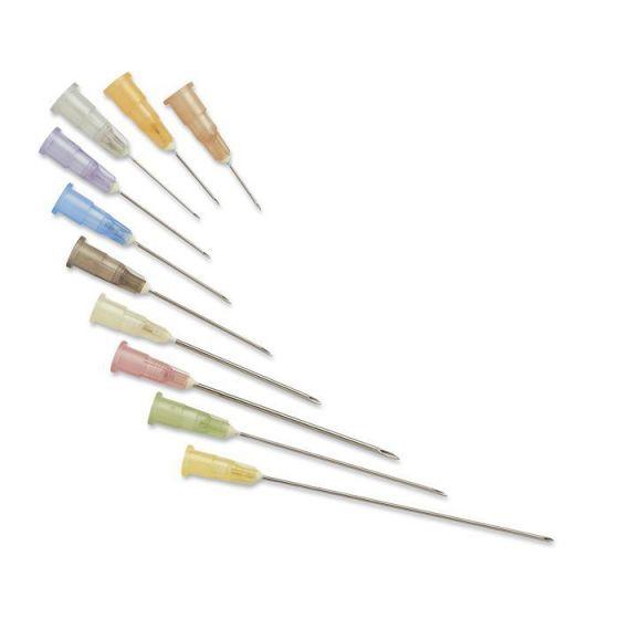 Aiguilles hypodermiques Vertes I.V.+I.M. 25mm - 8/10 - 21G 1 enfant Terumo boîte de 100