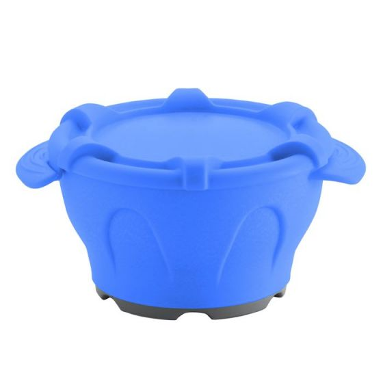 Bol thermodynamique avec couvercle Holtex bleu