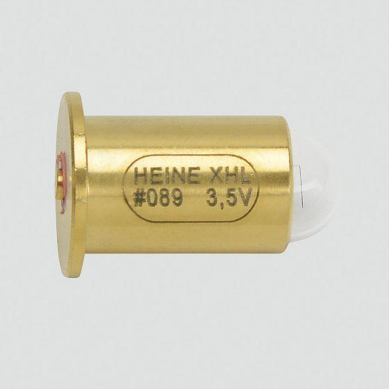 Ampoule Heine XHL XENON HALOG BULB  3.5V Pack 1 pour skiascope à fente alpha+