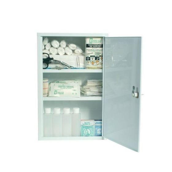 Armoire à pharmacie vide ASEP PV 10 personnes Esculape