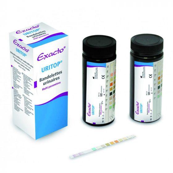 Bandelettes urinaires Exacto Uritop 10