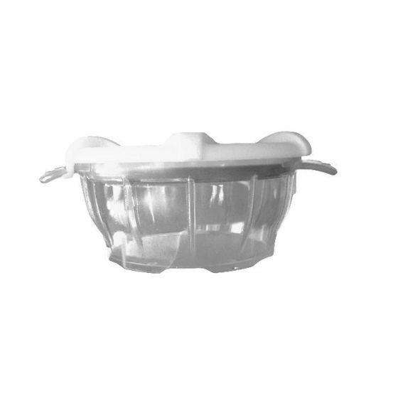 Bol polycarbonate avec couvercle thermodynamique blanc Holtex