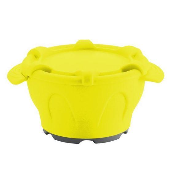 Bol thermodynamique avec couvercle Holtex jaune
