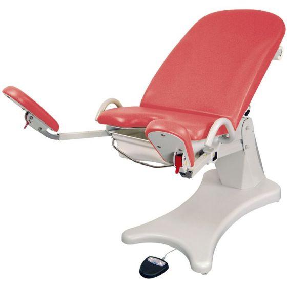 Table Gynécologique Electrique Promotal Elansa avec repose pieds inclinables