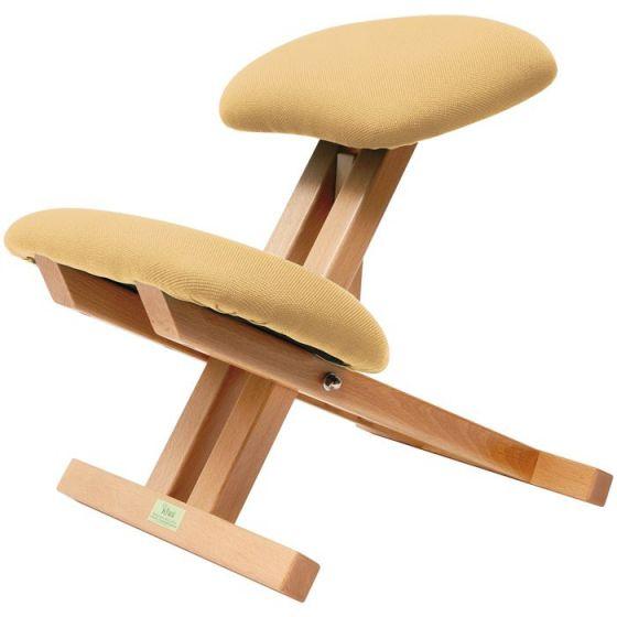 La Chaise ergonomique pliable avec dossier Ecopostural S2106