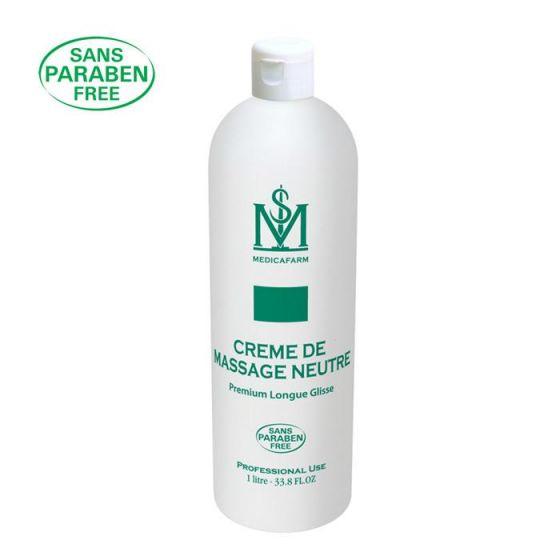 Crème de massage neutre premium longue glisse 1 L Medicafarm