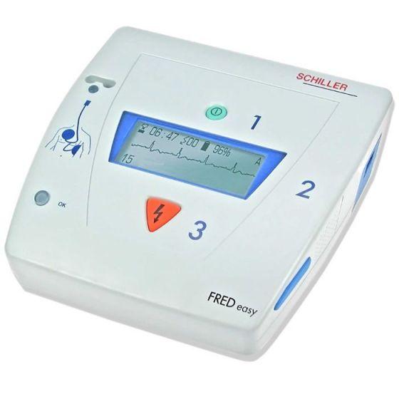 Défibrillateur Schiller FRED EASY semi automatique avec métronome