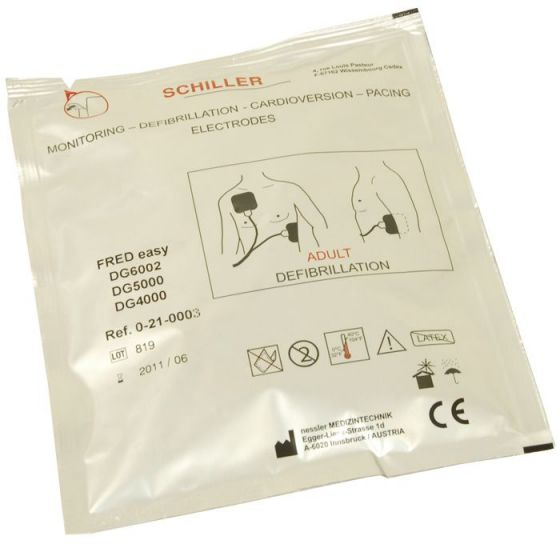 Electrodes adulte Schiller FRED EASY