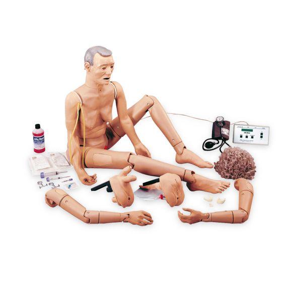 Mannequin de soins en gériatrie avancé Geri W44046