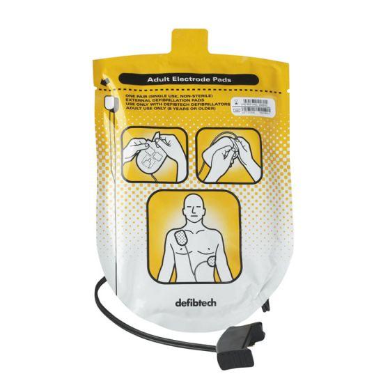 Paire d'électrodes adulte Defibtech