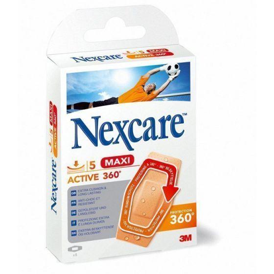 Pansements 3M Nexcare Active 360°Maxi Boîte de 5