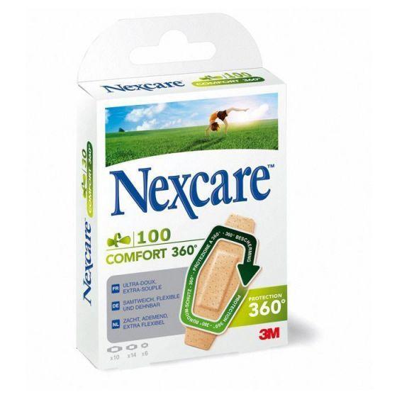 Pansements 3M Nexcare Comfort boîte de 100