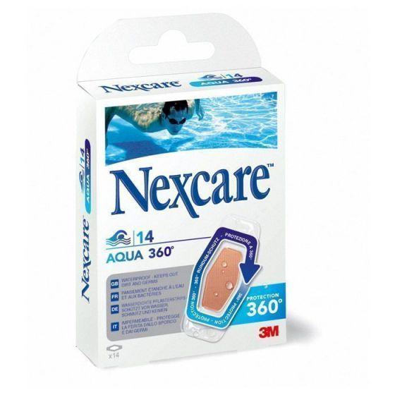 Pansements 3M Nexcare Protect Aqua 360° assortis Boîte de 14