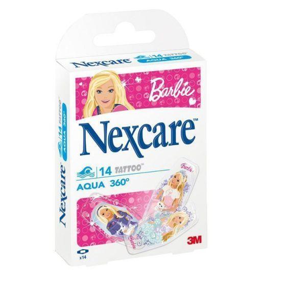 Pansements 3M Nexcare Protect Aqua 360° Barbie