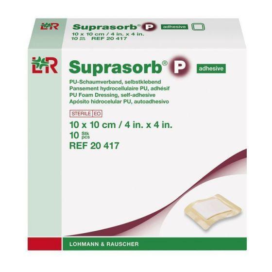 Pansements hydrocellulaires Suprasorb P Lohmann Rauscher boîte de 10