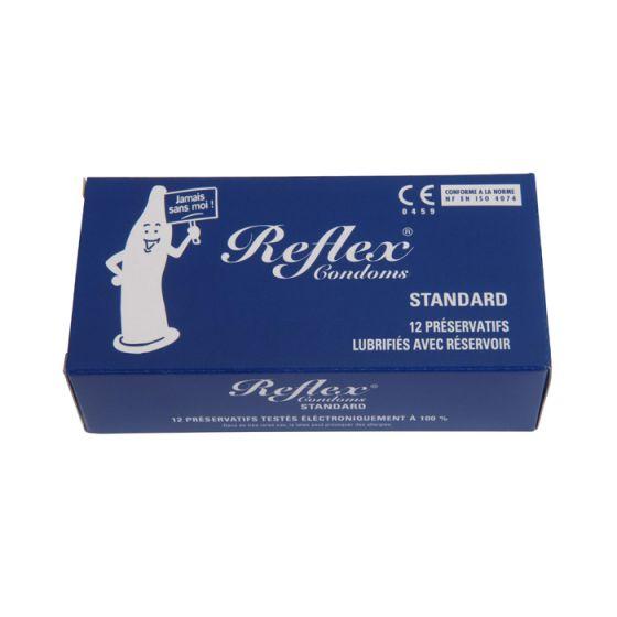 Préservatifs Reflex Standard Boite de 12