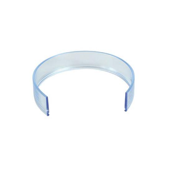 Rebord d'assiette translucide Holtex