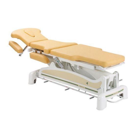 Table électrique ostéo 3 plans avec plateau à décrochement Ecopostural C3561M57