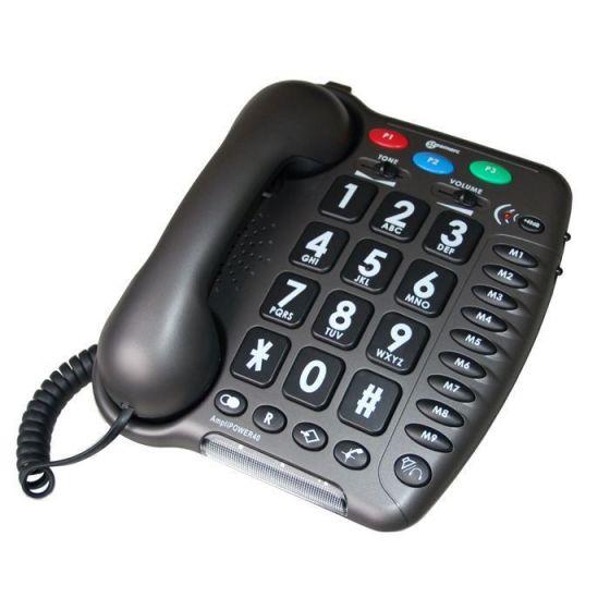 Téléphone Geemarc amplifié Amplipower 40 Anthracite