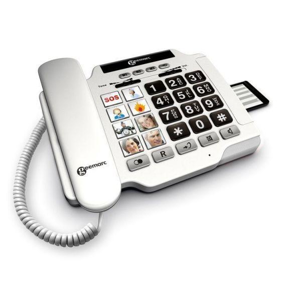 Téléphone Geemarc amplifié Photophone 100