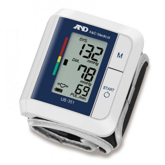 Tensiomètre électronique au poignet UB 351 IHB AND Medical