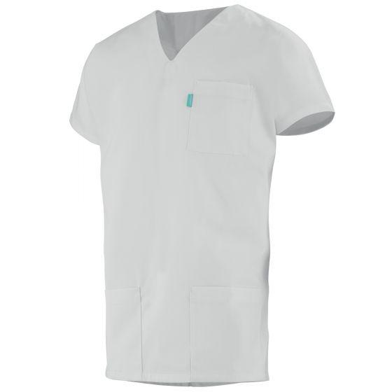 Tunique médicale mixte ZOE blanc
