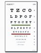 Test visuel de Snellen à 3m