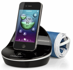 Medisana CardioDock, module de tension artérielle pour iPod touch, iPhone ou iPad